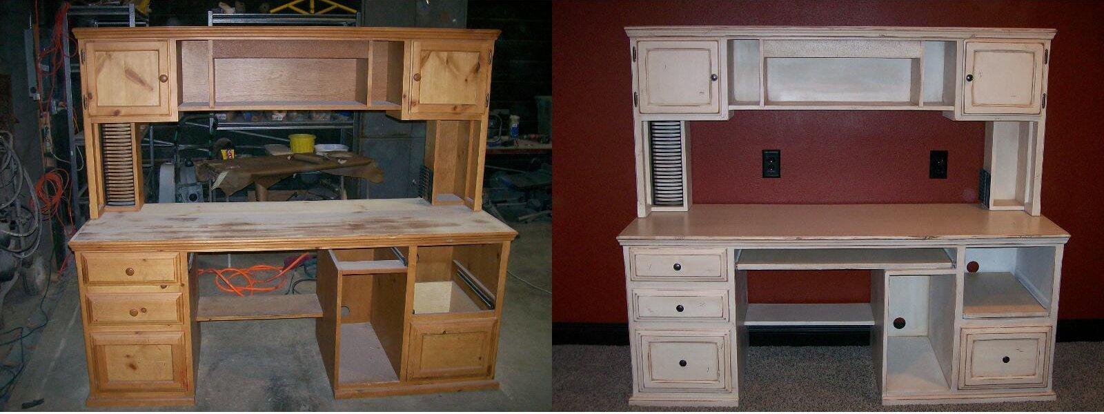 Красим старую мебель