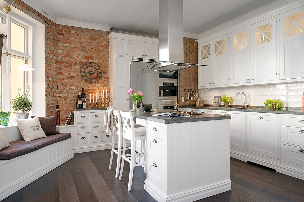 Классический стиль кухонной мебели