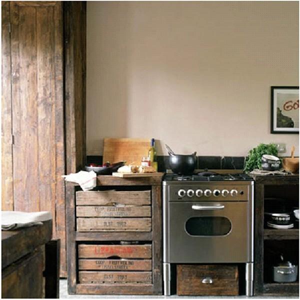 Дизайн интерьера кухни в смешанном стиле