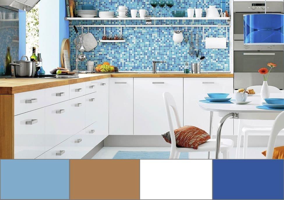 От правильного выбора цветовой гаммы будет зависеть общая стилистика кухни