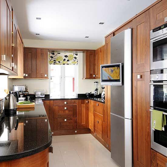 функциональное размещение мебели на кухне