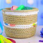 плетеная карзина фото