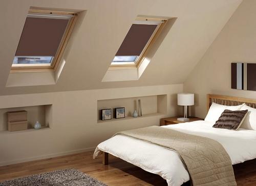 Рулонные шторы для мансардных окон