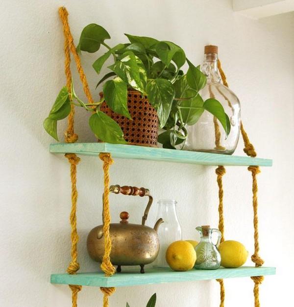 Подвесные полки-этажерка для цветов