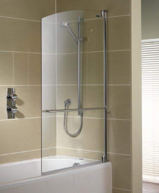 Достоинства и недостатки стеклянной шторки для высокой ванны