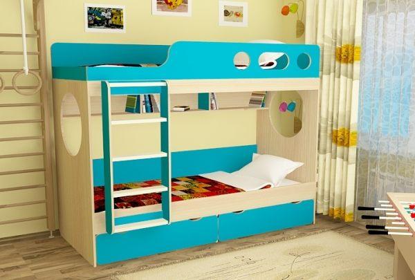 двухъярусная кровать для детей фото