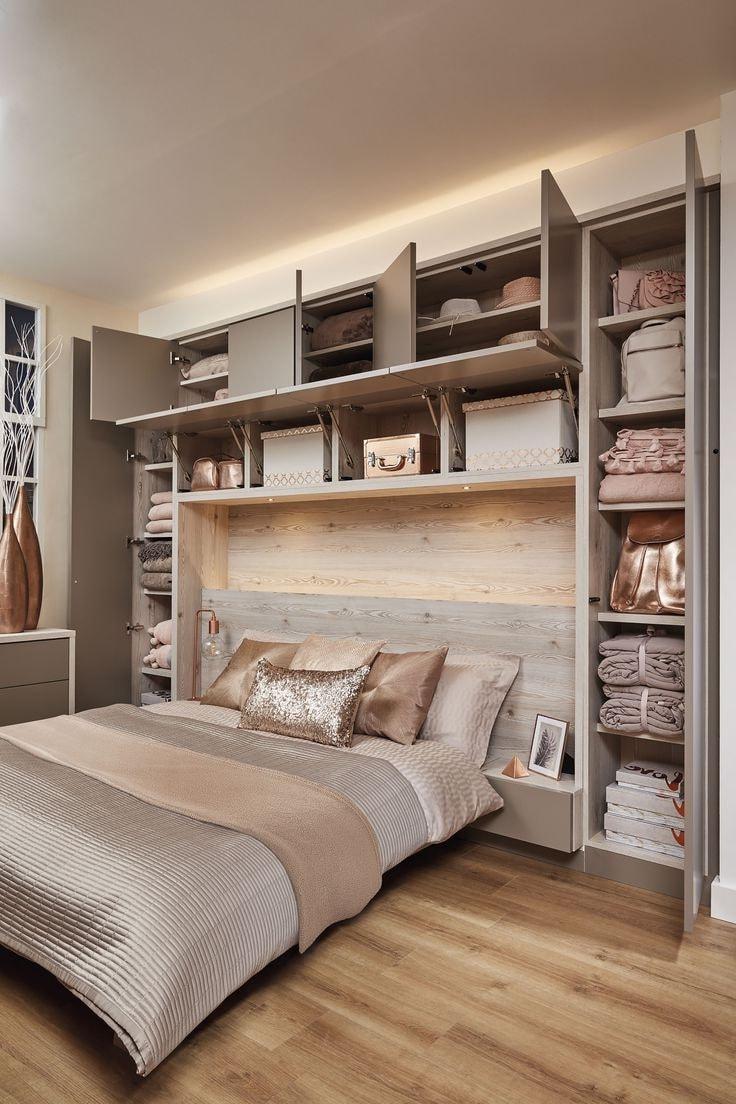 Функциональные идеи по обустройству маленьких спален