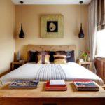 спальня в бежевых тонах фото
