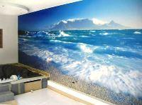 обои 3д для стен фото как смотрятся на стене