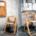 самодельные стулья из дерева фото