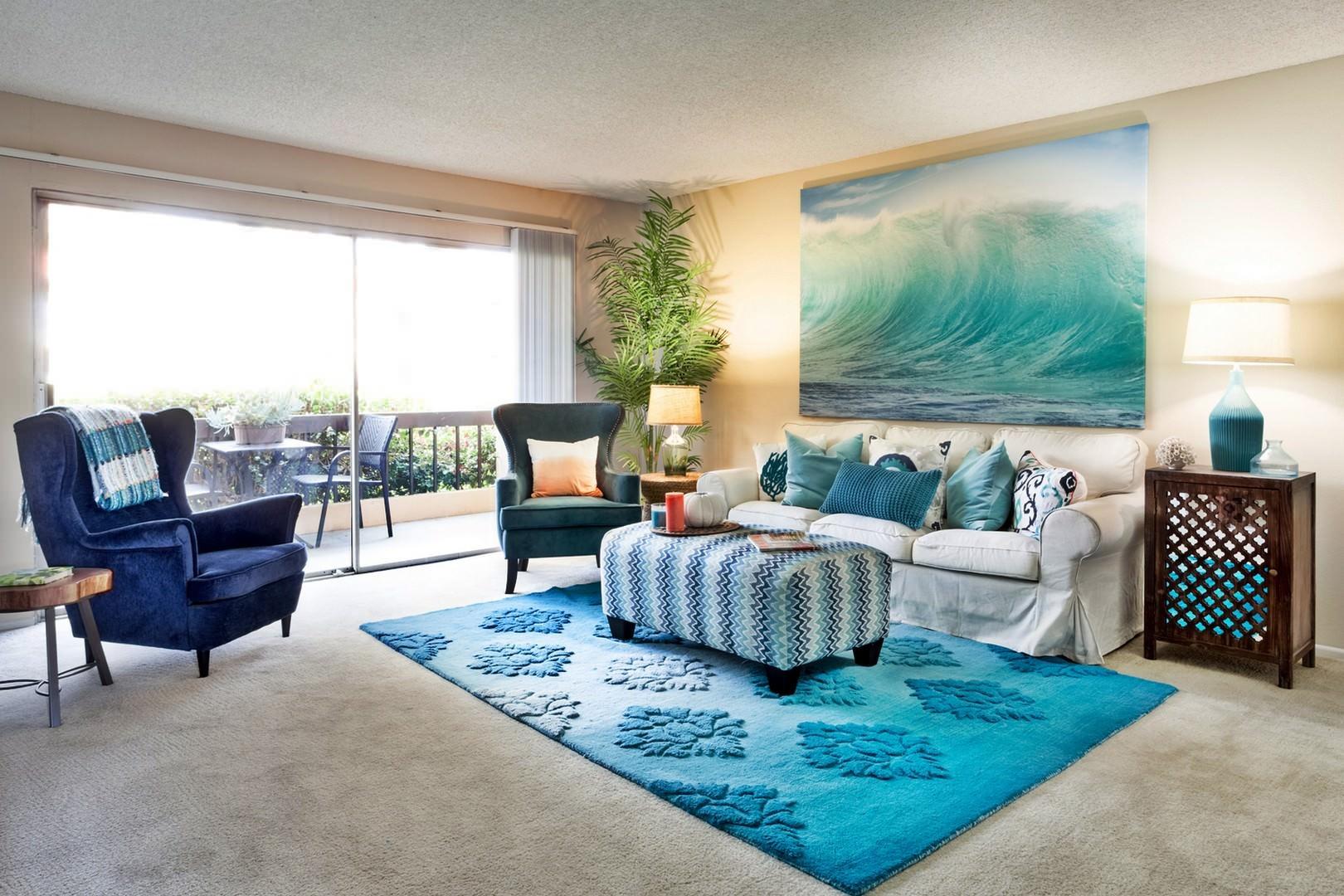 Дизайн квартиры в морском стиле — лето круглый год