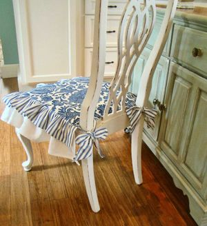 Как сшить накидку на стул со спинкой
