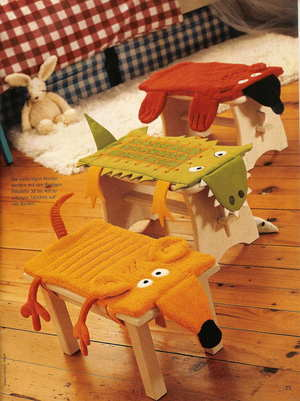Как сделать накидку на стул своими руками