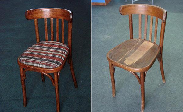 реставрация советского стула