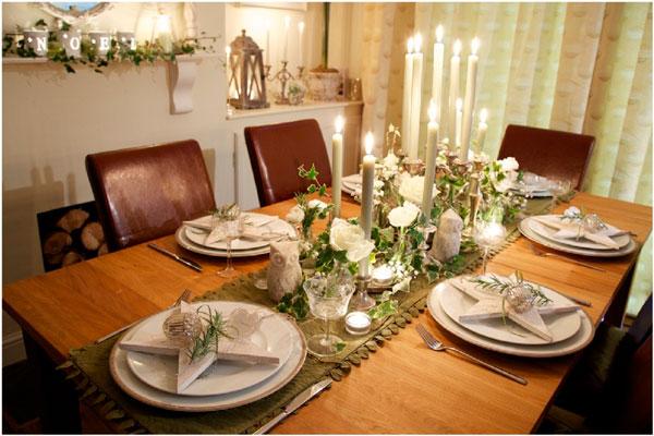 Званый ужин при свечах