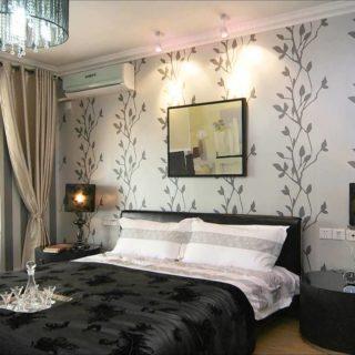 Обои для спальни — фото лучших новинок безупречного комбинирования стилей