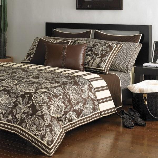 Красивые покрывала на двуспальную кровать фото