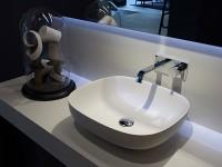 интерьер ванной с накладной раковиной фото
