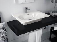 прямоугольные раковины для ванной на столешницу