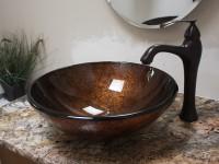 тумба для ванной с накладной раковиной