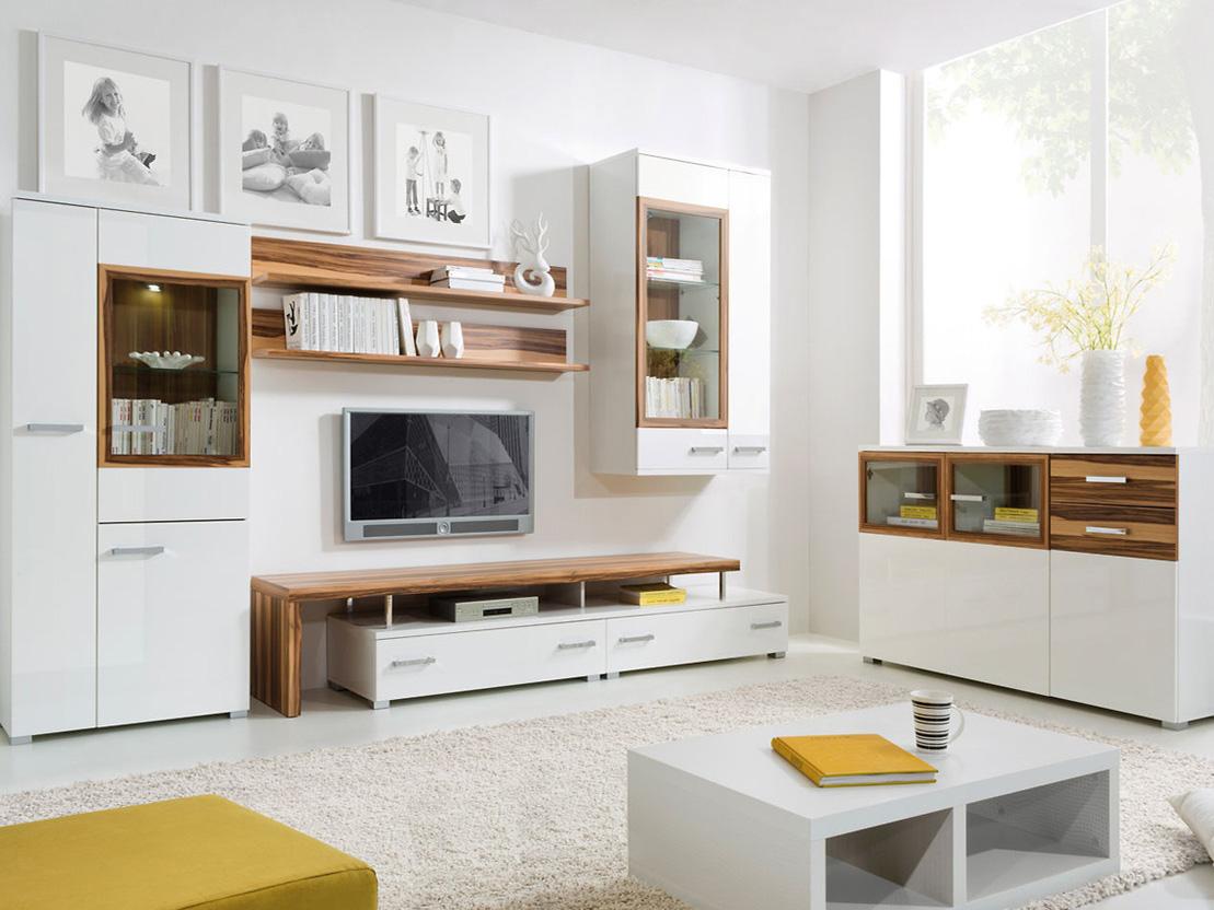 Дизайн корпусной мебели в гостиной