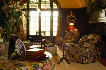 Дизайн комнаты в ретро стиле
