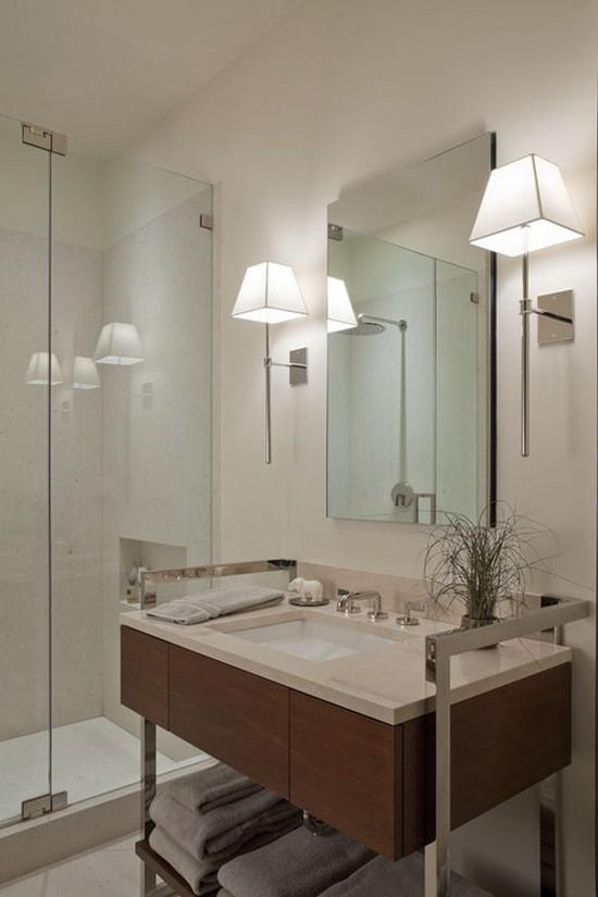Светильники бра для ванной