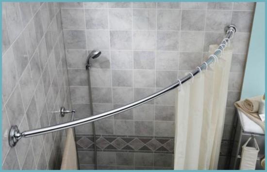 виды карнизов для ванной