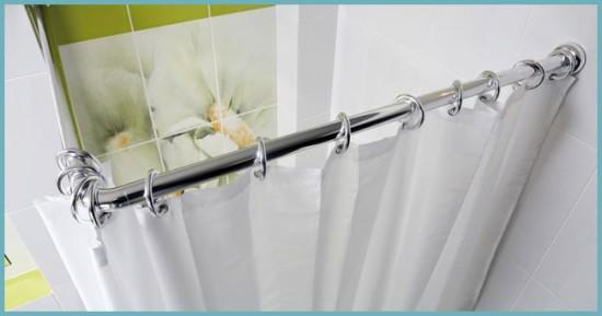 металлический карниз для ванной