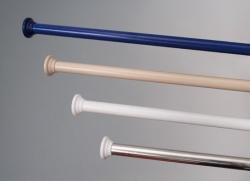 Карнизы для ванной из пластика и алюминия (снизу)