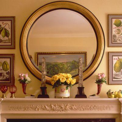 Форма круглого зеркала