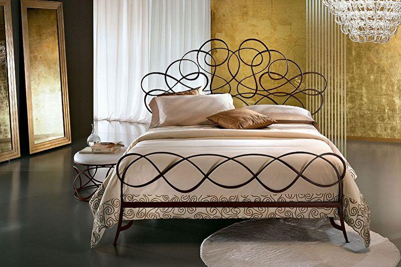 Кованые кровати - фото