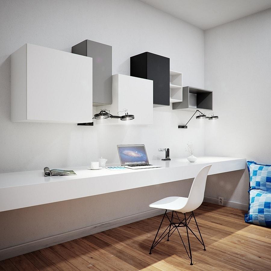 Стильный дизайн интерьера в стиле хай-тек