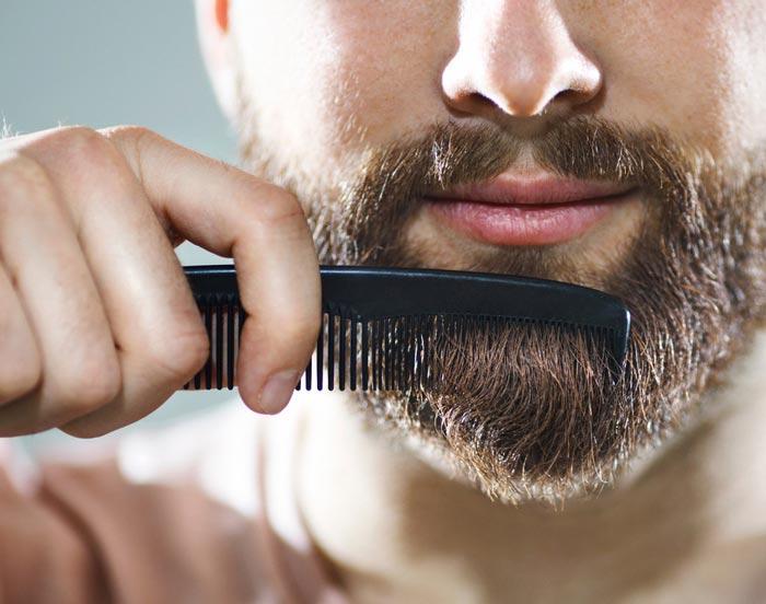 Перед стрижкой бороду нужно вымыть с шампунем