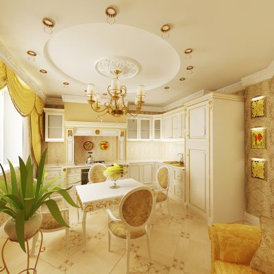 Желтое барокко