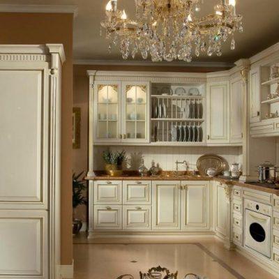 Мебель барокко стиля на кухне
