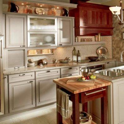 Кухня в духе барокко
