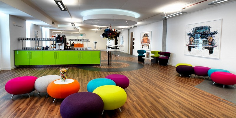 Дизайн интерьера современного офиса фото