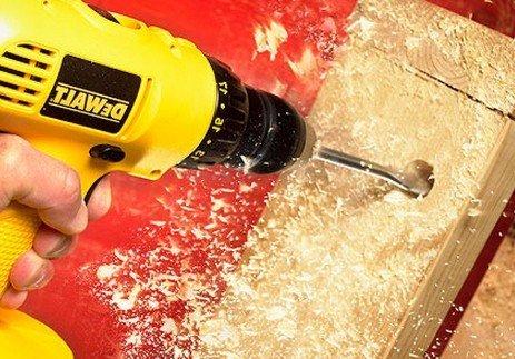 Какие нужны сверла для изготовления мебели своими руками?