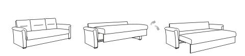 Механизм раскладывания диванов Пума
