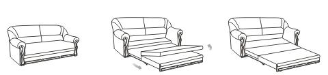 Механизм раскладывания диванов Выкатной