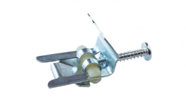 Крепеж для накладной мойки с винтовым зажимом.