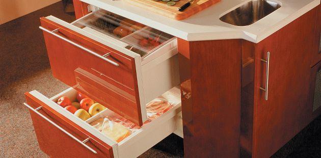 Виды встроенных холодильников