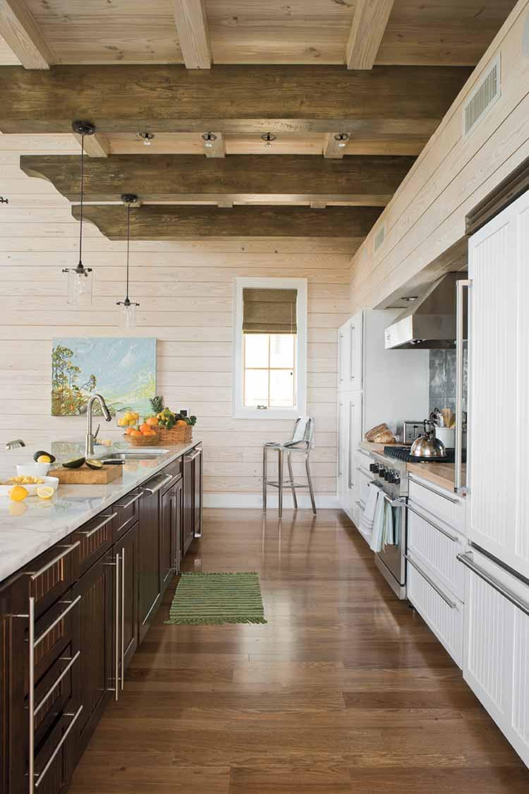 узкая кухня оформление идеи