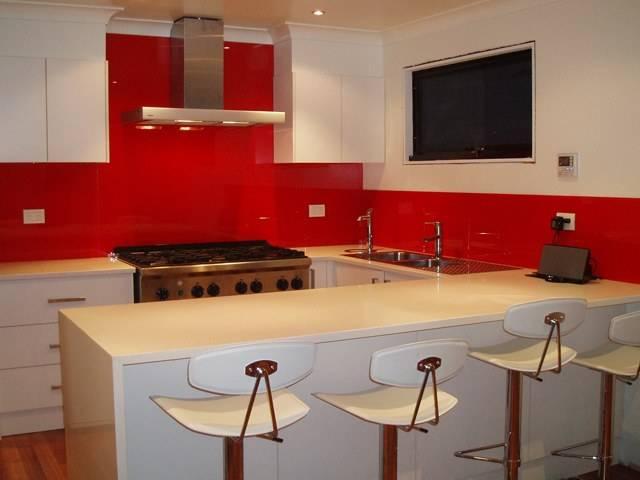 Красно-белая кухня (50 фото) - выбор цвета, идеи