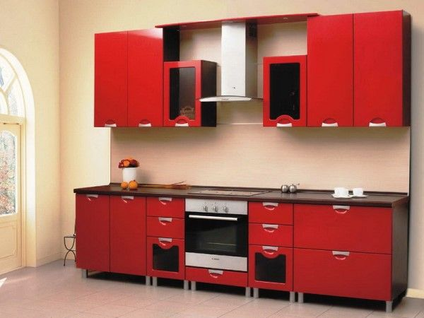 кухня 2500 мм прямая фото