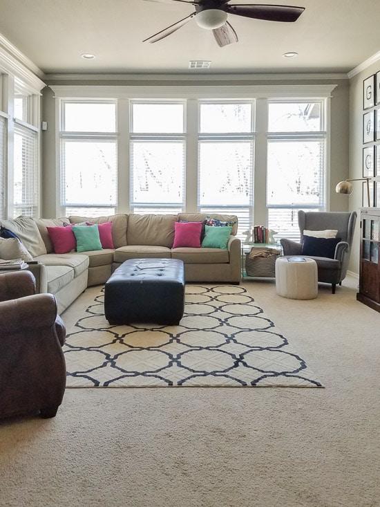 Быстрый декор дивана