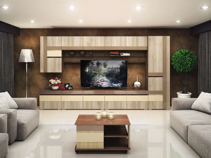 Оформление гостиной как центрального места в доме
