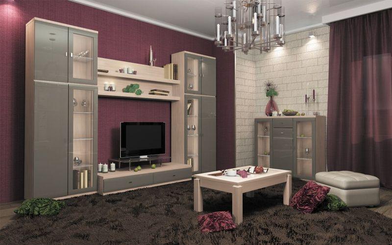 Оформление гостиной выбор цветовой гаммы