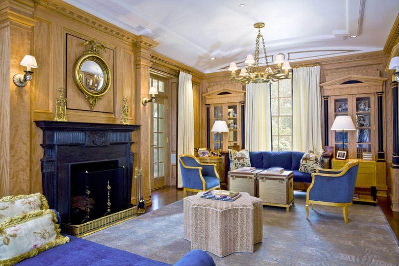 Оформление гостиной в стиле классика